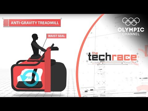 The Anti-Gravity Treadmill Aimed at Injury Recovery | The Tech Race