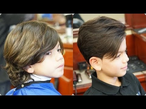 Classic Kid S Haircut With Modern 2018 Touch Tutorial