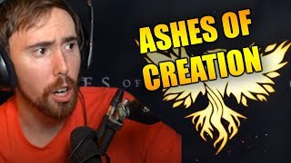 Asmongoldand39s Reaction To Ashes Of Creation Official Gameplay Teaser Trailer - Gamescom 2019