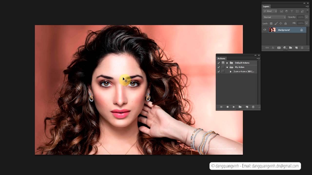 Hướng dẫn sử dụng Action trong Photoshop – Tạo, sử dụng, cài đặt & chia sẻ Action