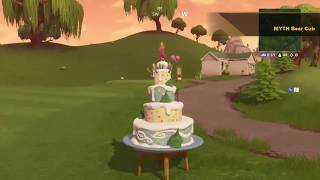 ALL 10 BIRTHDAY CAKE LOCATIONS IN FORTNITE: BATTLE ROYALE