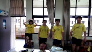 20140627義學國小5-1平衡感遊戲金雞獨立