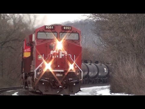 HiDef: KCS, CP, CN, BNSF, UP & More to Start 2016 on CSX's Mohawk Sub. 1-2-16.