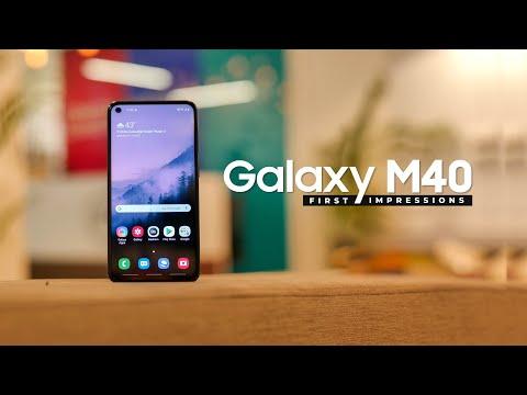 Galaxy M40 First Impressions!