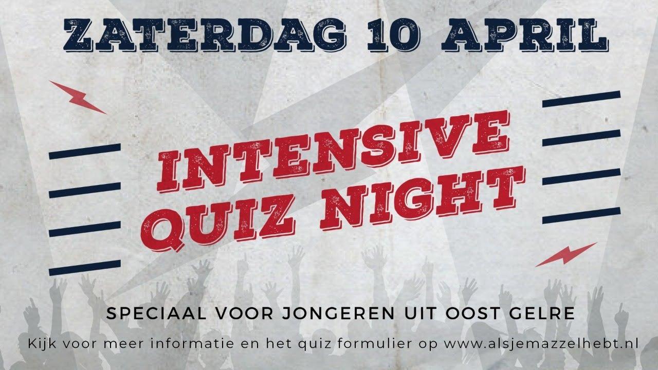 Intensive Quiz Night