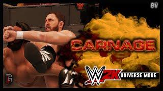 "WWE 2K - Universe Mode - WWE Carnage #7 - ""Changing Of The Guard"" (224)"