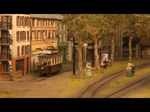 Model Railway Masterpiece Deceptively Real Old Tramway of France