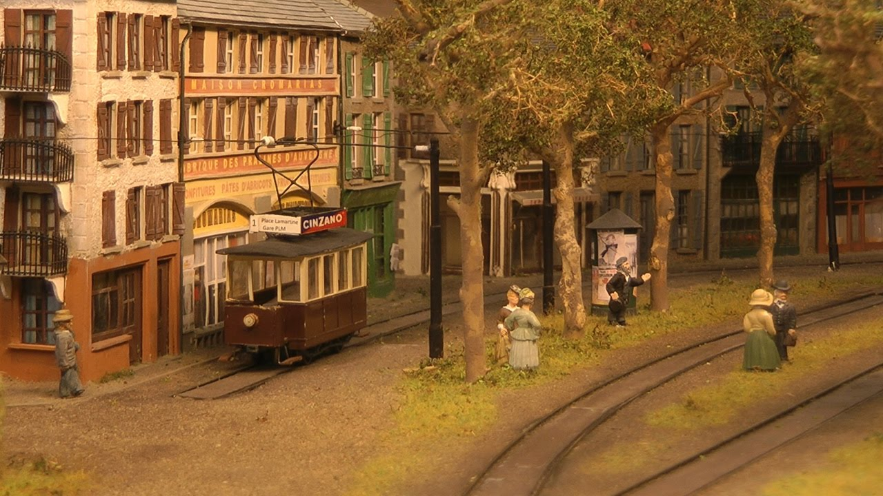 Model Railway Masterpiece Deceptively Real Old Tramway Of