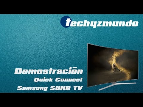 demostraci n quick connect samsung suhd tv youtube. Black Bedroom Furniture Sets. Home Design Ideas