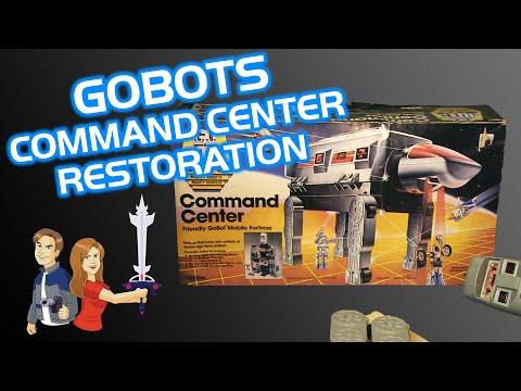 GoBots Command Center Rebuild & Restoration - 1984 Tonka Vintage
