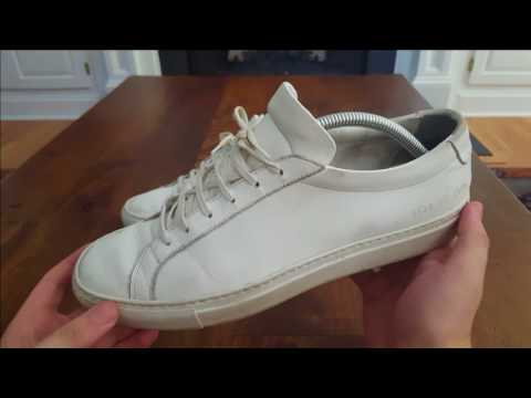 Common Projects Achilles Low 1.5 Year Update and Wash