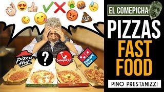 CATANDO PIZZAS de FAST FOOD (El Comepicha)   Pino Prestanizzi