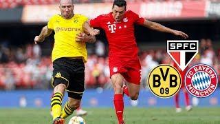 Klose, Elber, Ze Roberto & Co.: FC Bayern Legends vs. Borussia Dortmund & FC Sao Paulo | Highlights
