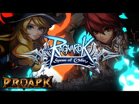 Ragnarok Spear Of Odin Gameplay Android / iOS (CBT) - Swordman