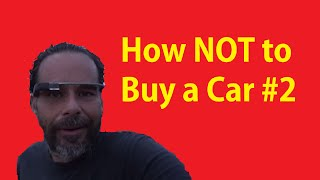 Text Email Call DIY Buying Cars Tutorial ~ How NOT to Buy a Car #2
