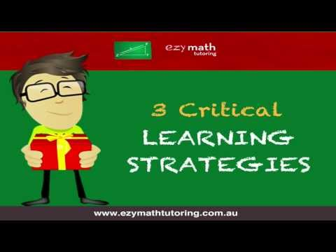 3 Critical Learning Strategies for Students