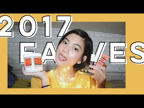 best of 2017 // makeup & skincare (philippines)