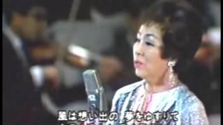 マロニエの木陰/松島詩子ステージ (昭和12年、1937年)