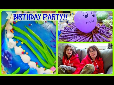 It's A Party!! Twins Go To Mermaid Party