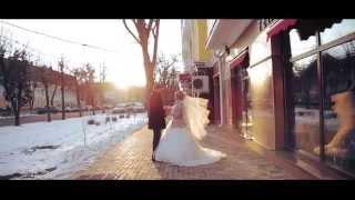 Красивый зимний свадебный клип. 21.02.15  Ставрополь.