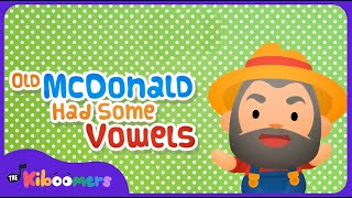Vowel song | AEIOU Sounds Song | Old MacDonald Had Some Vowels Song for Children