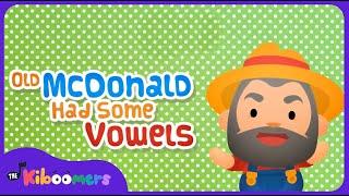 Old MacDonald Had Some Vowels | AEIOU | Vowels | Phonics | The Kiboomers