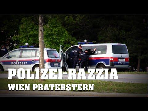 DROGENRAZZIA am Praterstern | POLIZEIEINSATZ-Wien | 26.04.2016