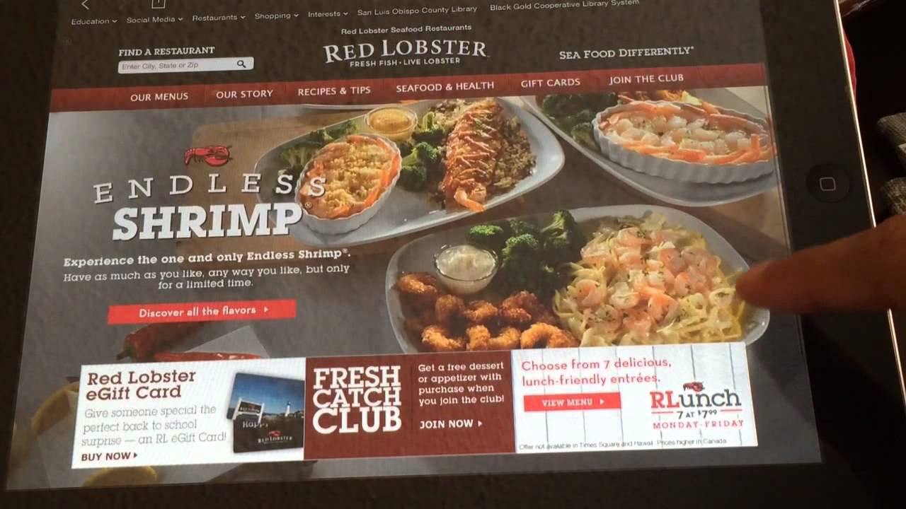 Red Lobster\'s ENDLESS SHRIMP Review - YouTube