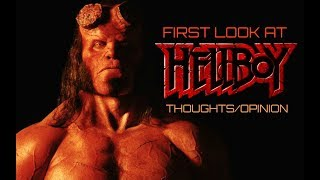 First Look At David Harbour As HELLBOY!!