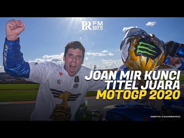 Bravo! Joan Mir Pastikan Gelar Juara Dunia MotoGP 2020