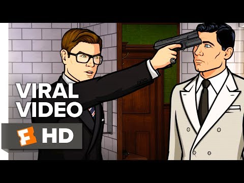 Kingsman: The Golden Circle Viral Video - That Time Archer Met Kingsman (2017)