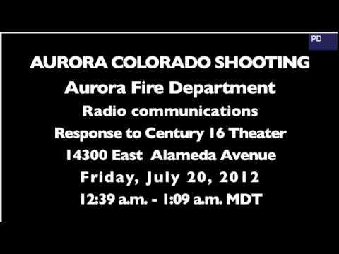 Aurora Theater shooting 911