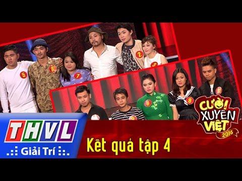 THVL | Cười xuyên Việt 2016 – Tập 4: Công bố kết quả