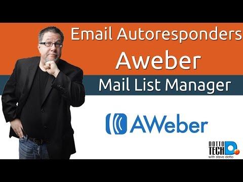 Email Auto-Responder 101 - Aweber