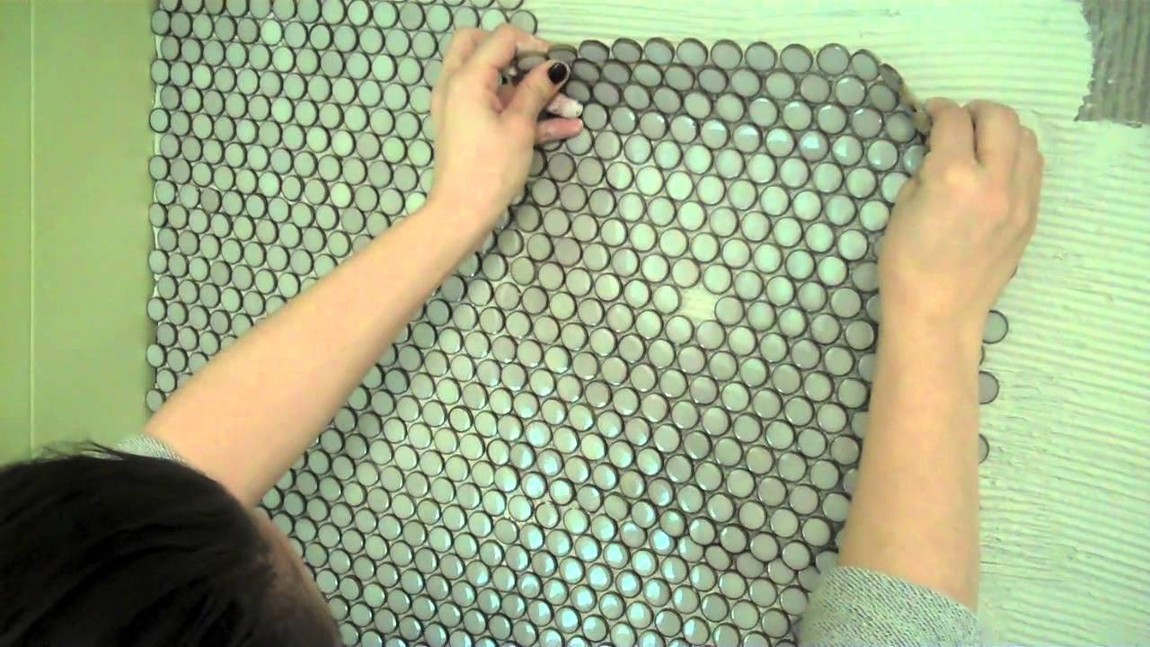 how to install penny tile