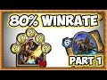 Hearthstone: 80% Winrate Rank 10 To 5 - Secret Paladin (Part 1)