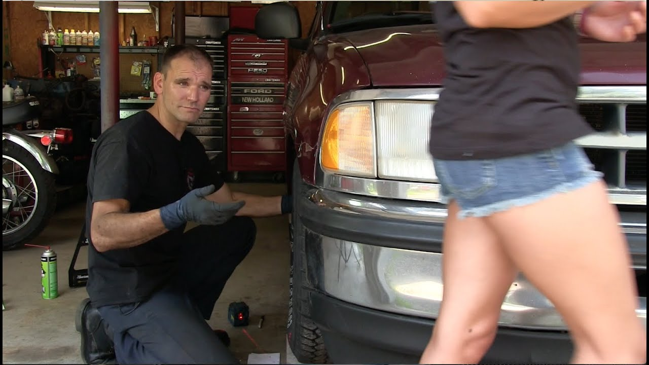 Garage X - Episode 7 - DIY Wheel Alignment Part 2 - YouTube