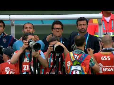 Russia vs Algeria     russian national anthem world cup  2014