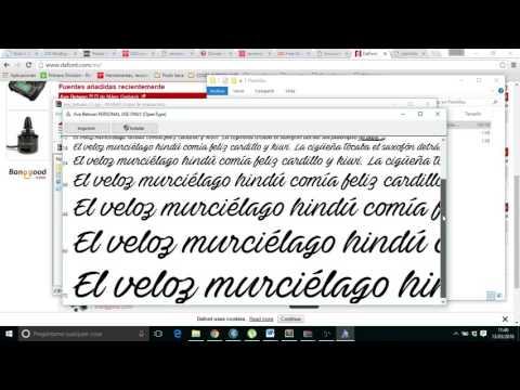 Añadir Tipo De Fuentes HTML-CSS