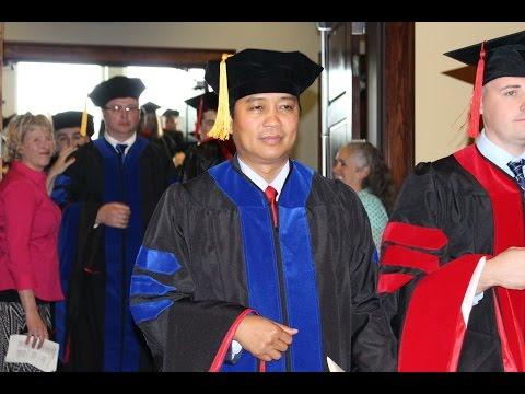 REV. HRE MANG, Ph.D. degree lak lai video record
