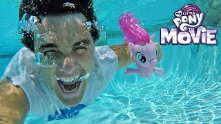 Pinkie Pie's Underwater Swimming Seapony Adventure !  || Toy Review || Konas2002