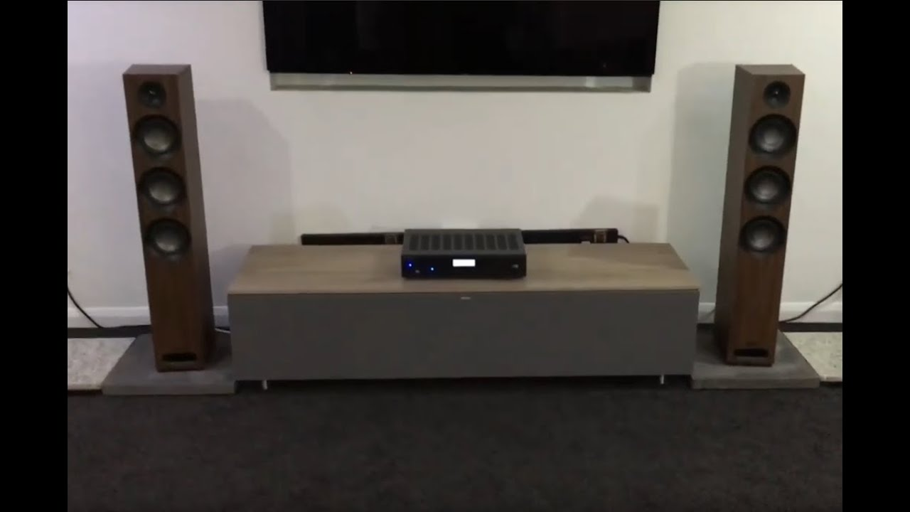 Jamo Studio 809 Speakers with Rotel A12 Amplifier - Ortons AudioVisual