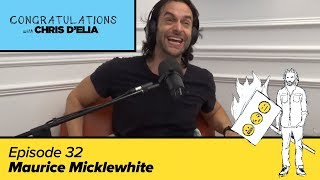 Congratulations Podcast w/ Chris D'Elia (VIDEO) | EP32 - Maurice Micklewhite