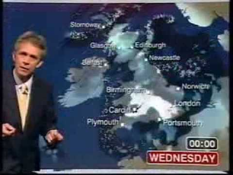 BBC Weather 5th January 2010: Heavy Snow