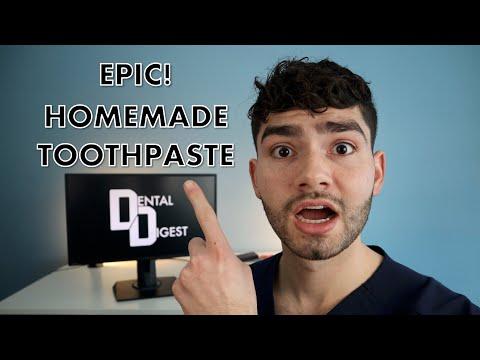 Dental Student Makes Homemade Toothpaste!? - Dental Digest