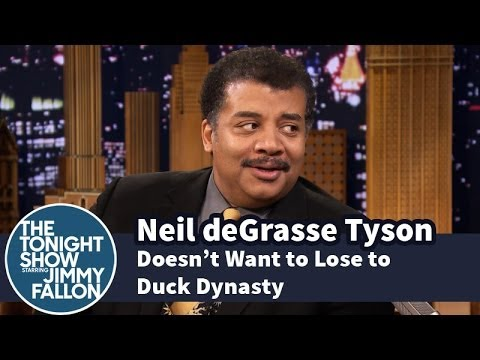 Neil deGrasse Tyson Doesn't Want to Lose to Duck Dynasty