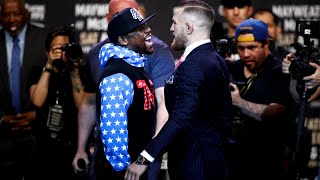 Mayweather, McGregor trash talk is pure spectacle