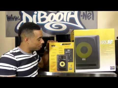 KRK Rokit 5 G3 Monitor & 10S Subwoofer Unboxing Video
