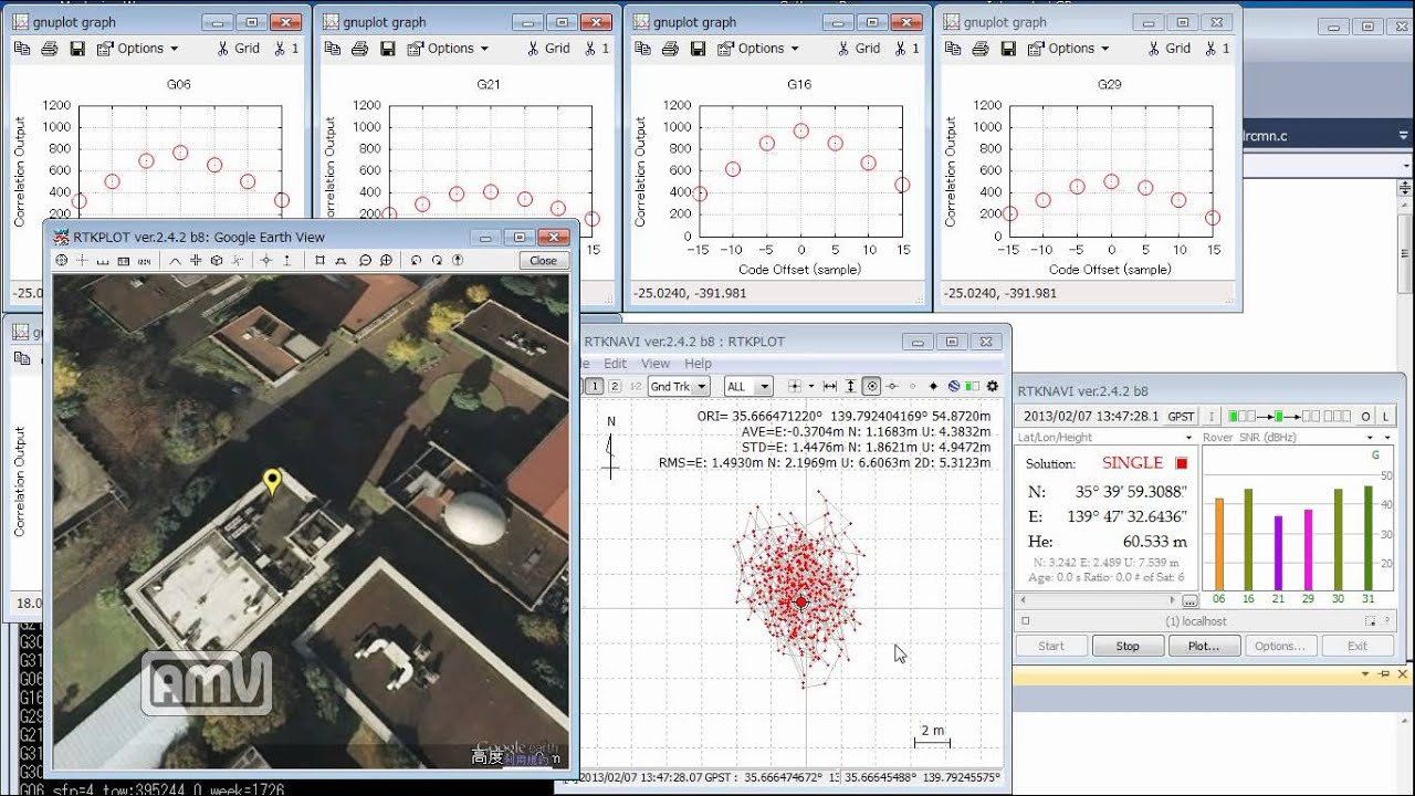 Open source real-time GNSS SDR