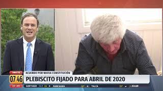 """Ministro Ward por nueva Constitución: """"Lo que voy a votar yo, me lo voy a reservar"""""""